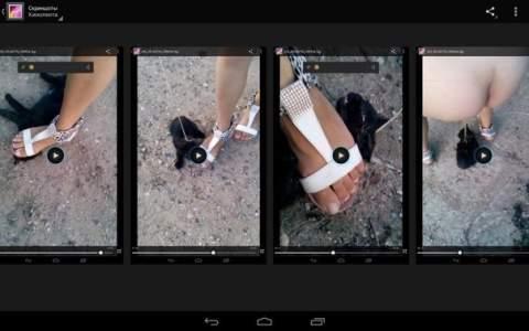 девушки садистки топчут ногами котят