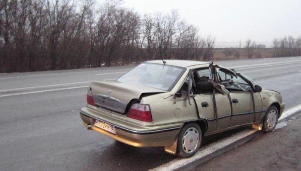 ДТП авария на 943 км трассы М4 Дон в Ростовской области 13.12.2014