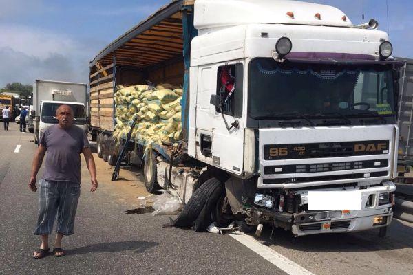 М4 ДОН авария на 1010 км Ростовская область 24.05.2016