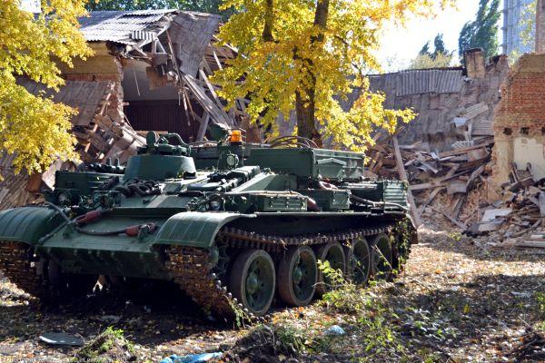 ВКаменске-Шахтинском пылает Дом офицеров