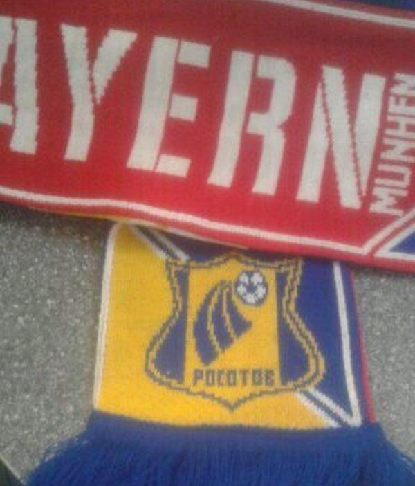 Кматчу «Ростов»— «Бавария» фанатам продали бракованные шарфы