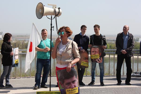 Анастасия Шевченко: На деревню Путину: в Ростове участники акции #надоел