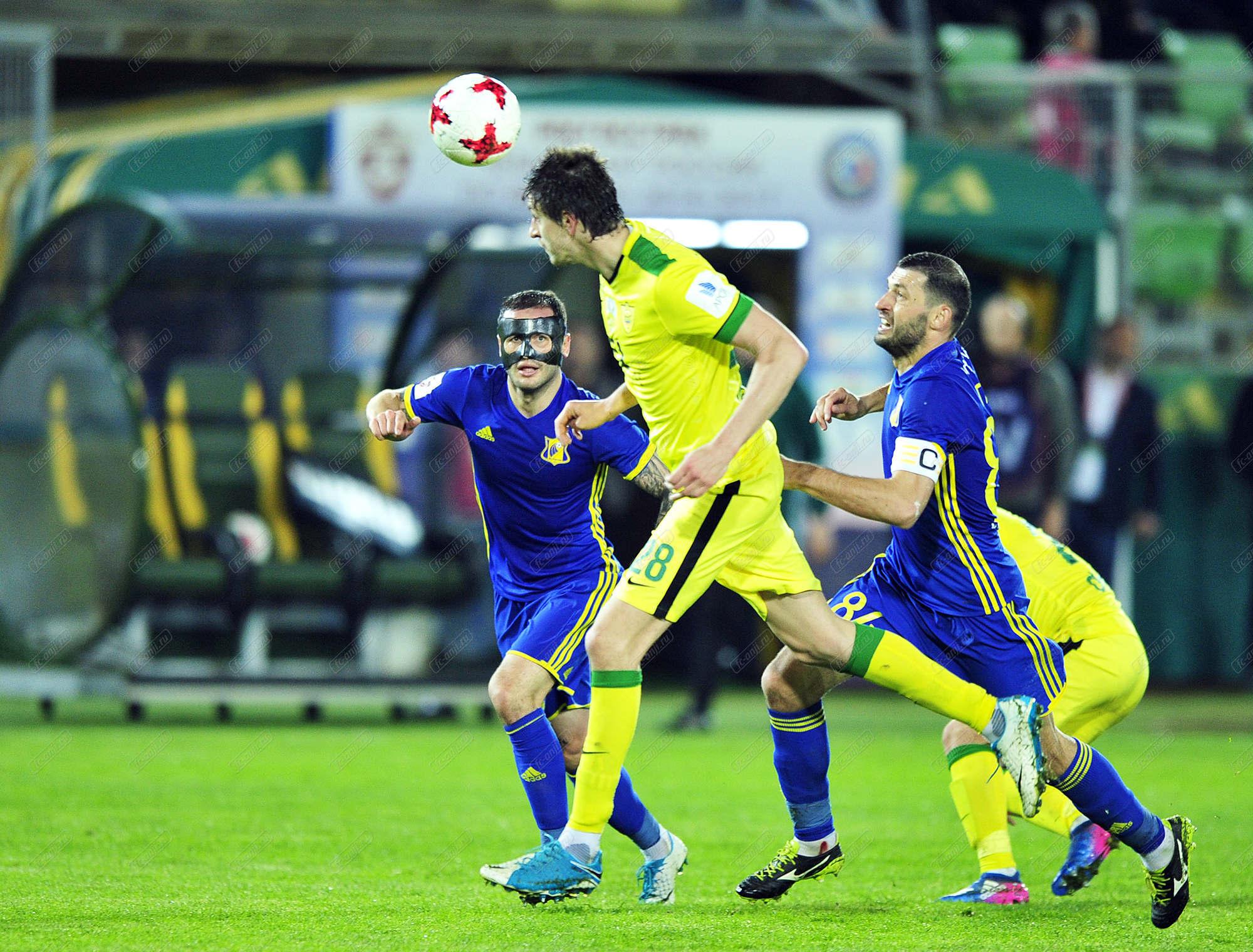 «Ростов» обыграл «Анжи» ивошел взону Лиги Европы