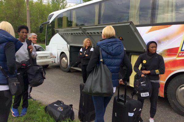 Автобус сдонскими гандболистками попал вДТП вТольятти