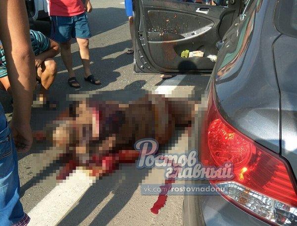 ВРостове-на-Дону арестовали мужчину подозреваемого вобстреле машины